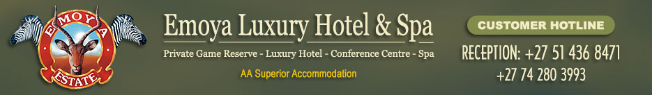 Emoya Hotel & Spa | Accommodation in Bloemfontein | Hotel